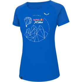 SALEWA Redbull X-Alps Dry T-shirt Femme, royal blue